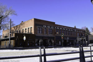 A better view of the Occidental Hotel. Yes, you can still stay in this hotel. http://www.occidentalwyoming.com