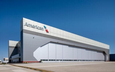 Record-Setting Hangar for American Airlines