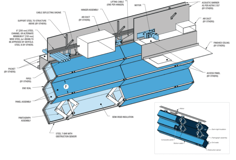 Skyfold Technical Drawing