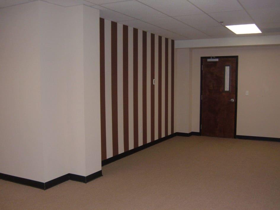 Interior painting pinstripes