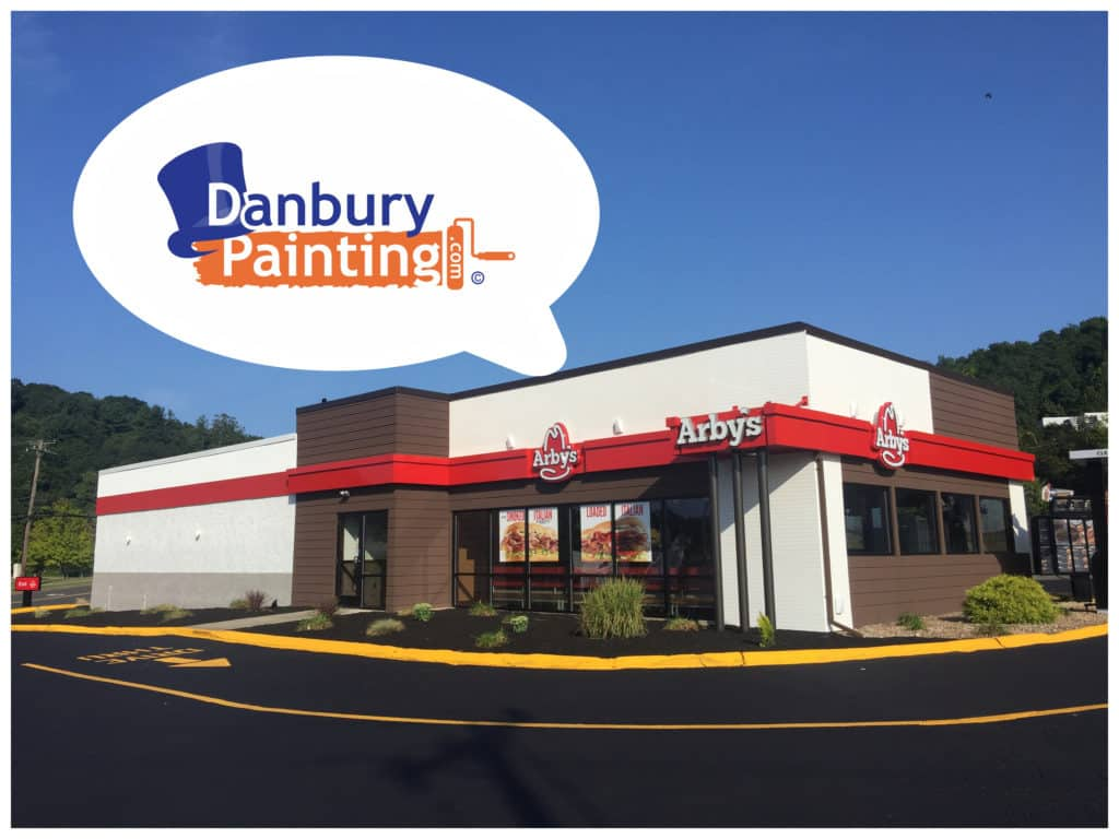 Commercial Painting Arby's Danbury Ct