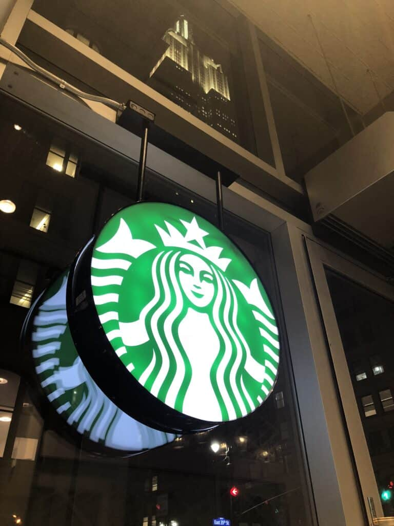 Starbucks 5th and Park NYC painted and renovated by Danbury Painting