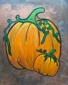 Paint Party Mimosas, Brunch, & Painting Pumpkins @ Zaftig Brew Pub
