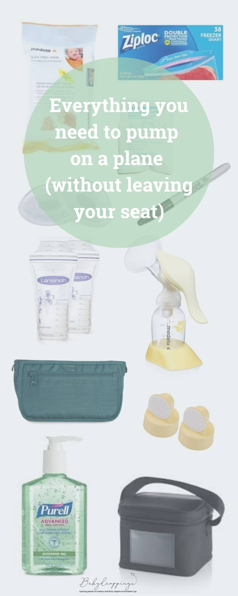Everything you need to pump on a plane (without leaving your seat) | babydroppings