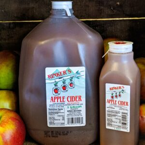 Apple cider at Loudounberry