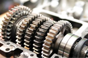 Transmission gear repair in a car in Elk Grove Village, Illinois