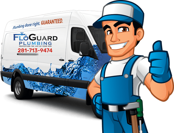 Plumber ready to work