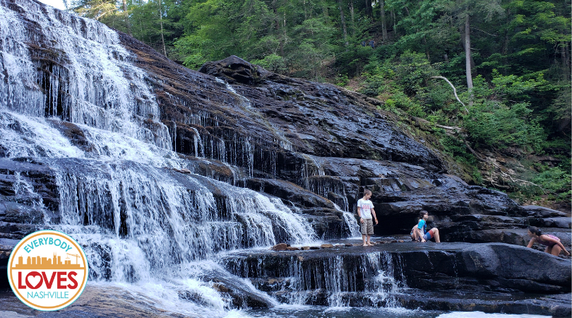 The Cascades at Cane Creek in Fall Creek Falls State Park