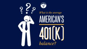 What is the average American's 401(k) balance?