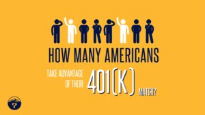 How many Americans take advantage of their 401(k) match?