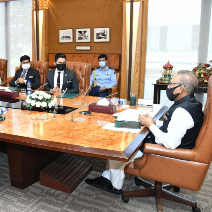 Top Digital Health Startup Meets President of Pakistan