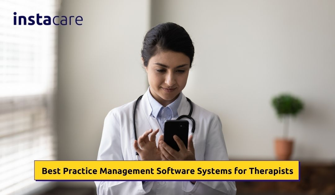 best practice management software for therapist