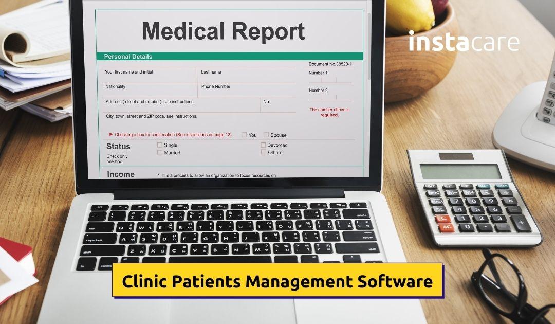 Clinic patient management software