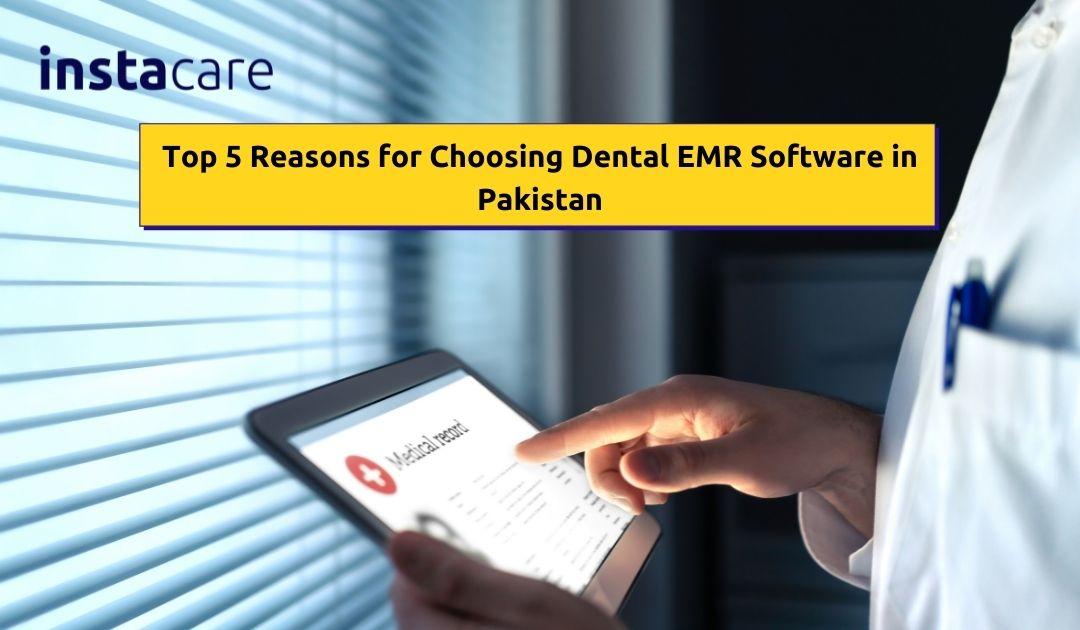 Dental EMR software in Pakistan