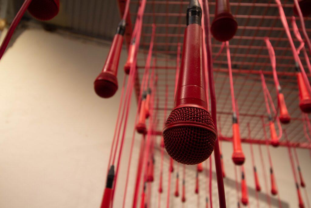 Hanging Microphones