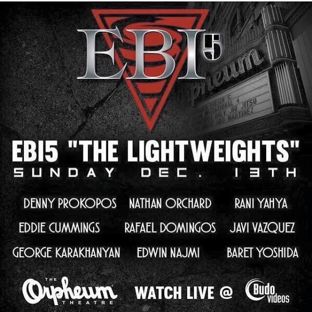Eddie Bravo Invitational 5 - EBI 5 - At the Orpheum Theater