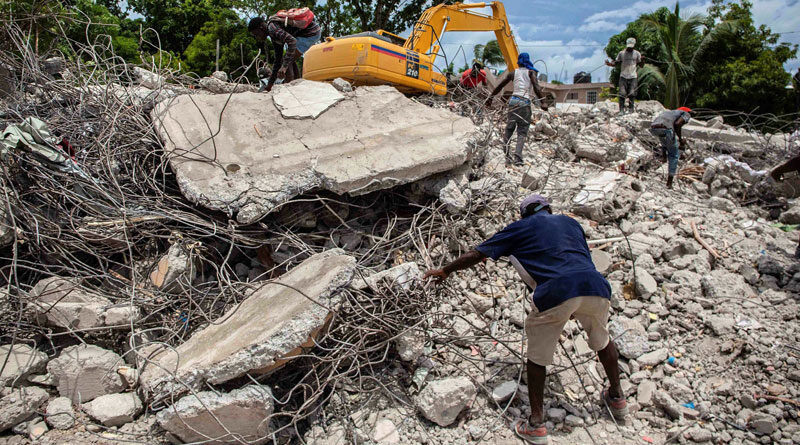 Haiti's earthquake victims are still overwhelming hospitals