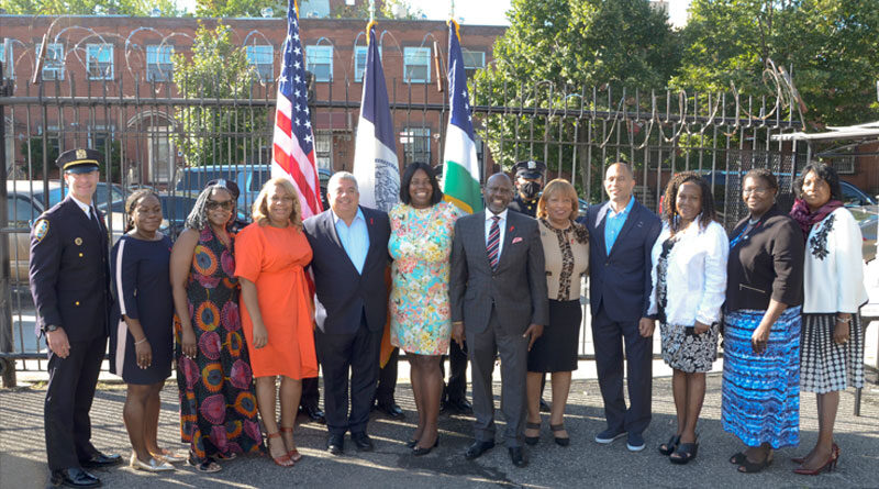 AACEO Welcomes President of Medgar Evers College