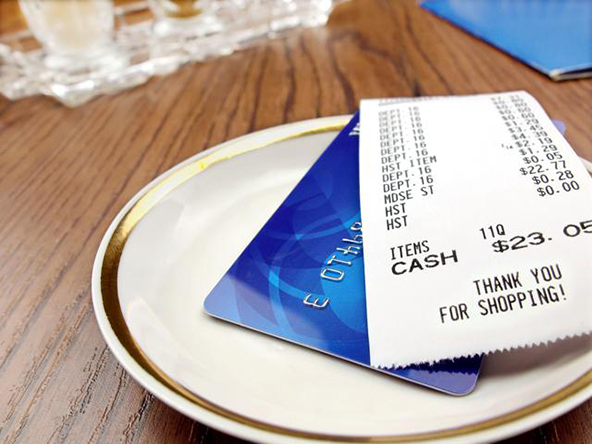 Required Information for Credit Card Receipts
