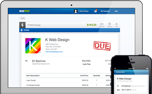 WePay, Online Invoicing and Bachelor Parties
