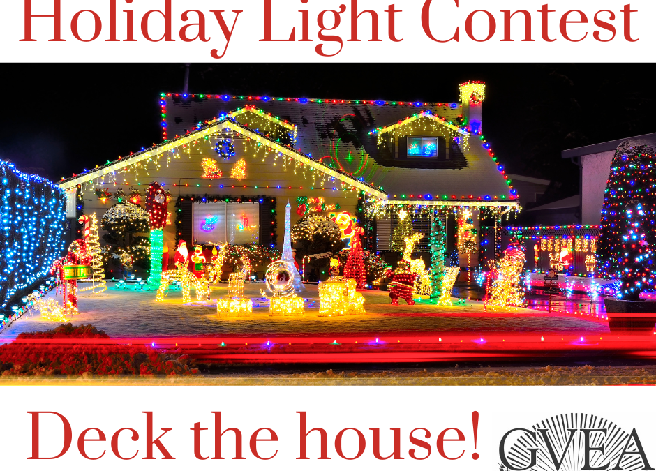 GVEA Holiday Light Contest!
