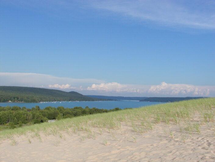 Glen Lake from Sleeping Bear Dunes