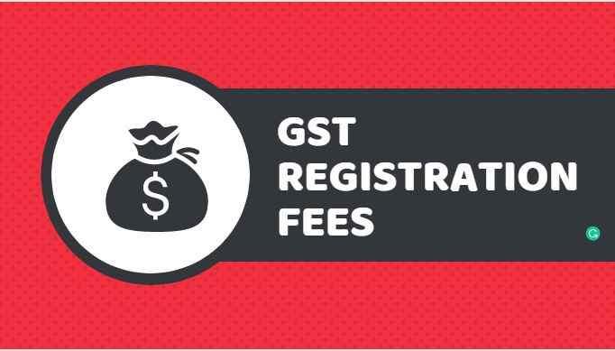 gst registration fees