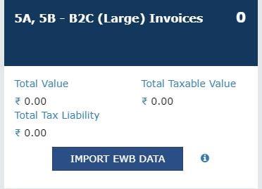 B2C 2.5 lacs GSTR-1
