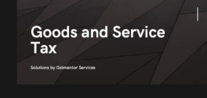 goods and service tax services