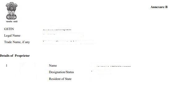 GST Reg 06 certificate page 2