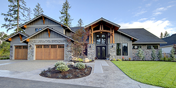 Street side front of Doriot Construction's 2018 Timberline Build in Camas, WA