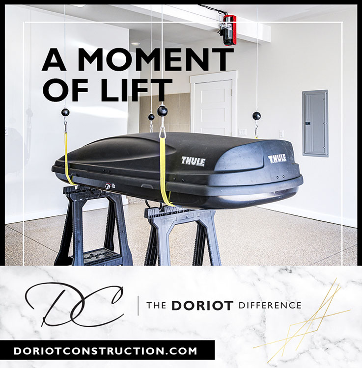 Doriot Construction Thule Lift Mid Century Modern
