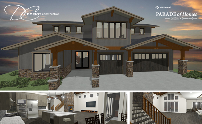 Doriot Construction Images of Parade of Homes House