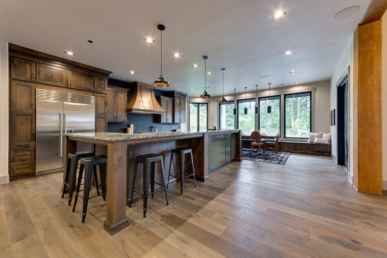 Timberline kitchen bar seating