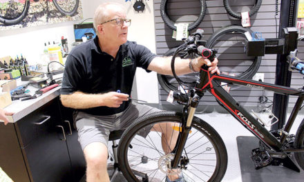 Electric bikes let cyclists choose their level of exercise