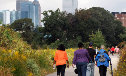 Join a Walking Club or Take a Group Outing