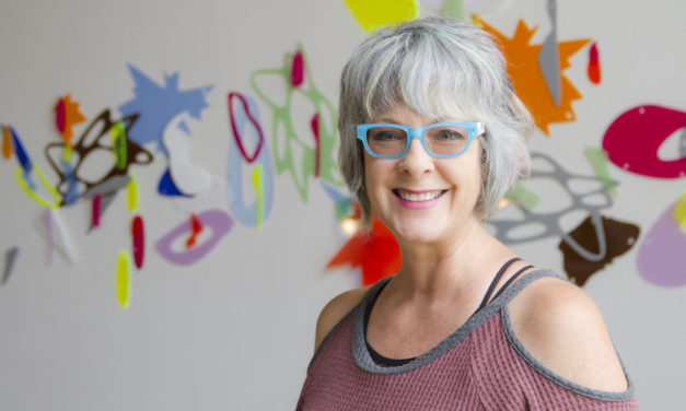 The Touchable Art of Leisa Rich
