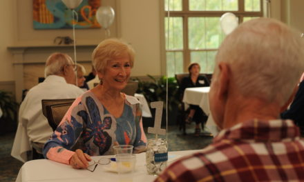 Finding a Sweet Spark: Speed dating helps older adults meet new friends