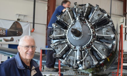 Up And Away: No age limits for the love of flying