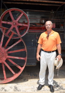 Randy Pickle at the Southeastern Railway Museum