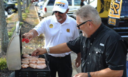 Football, Friends and Food: Tailgating adds to the fun
