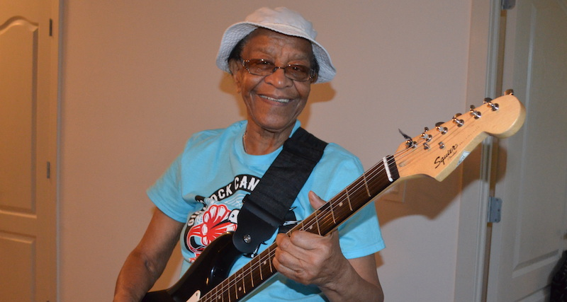 "The Gift of Music: Beverly ""Guitar"" Watkins keeps playing for others"