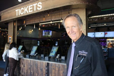 TV comedy pioneer Bill Tush joins a movie theater's new era