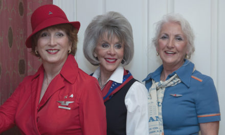 Flying Together in Retirement: Delta Clipped Wings