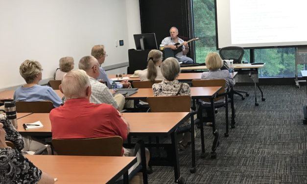 OLLI Instructor Crusades Against 'Aging in Place'