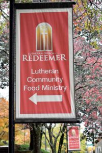Food ministry banner