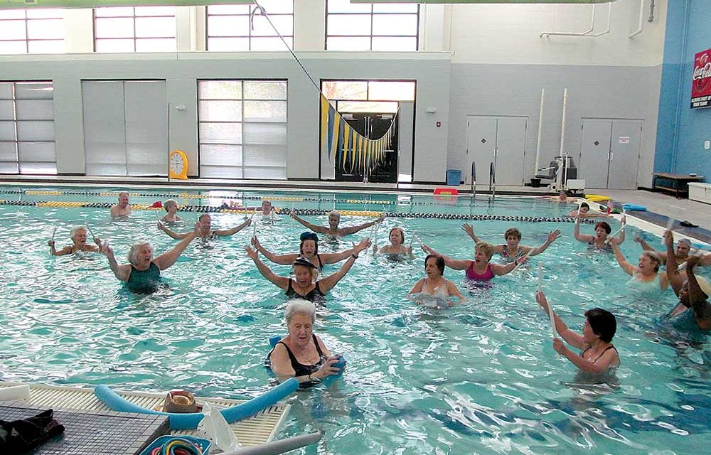 Local Aqua Zumba Instructor Helps Older Adults Stay Strong