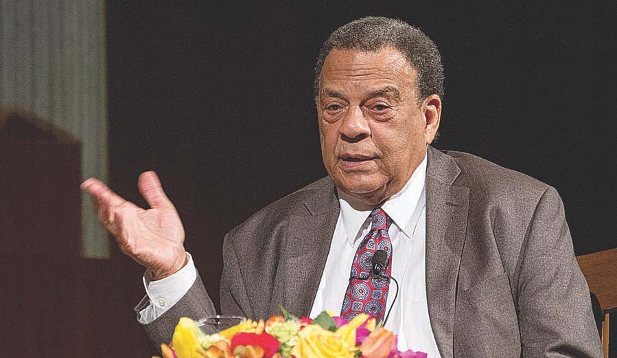 Q&A: Andrew Young Has Seen the World Change