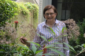 Her Garden Is for the Birds…and Bugs