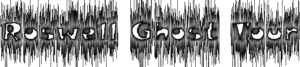 Roswell ghost logo